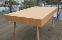 Rückseite Schreibtisch