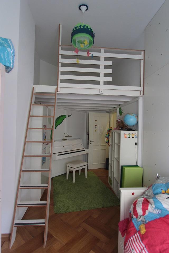 hochbetten mit einer kletterwand f r die kinder dein. Black Bedroom Furniture Sets. Home Design Ideas