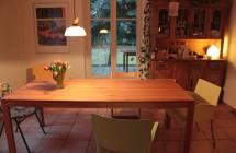 Tisch beim Kunden