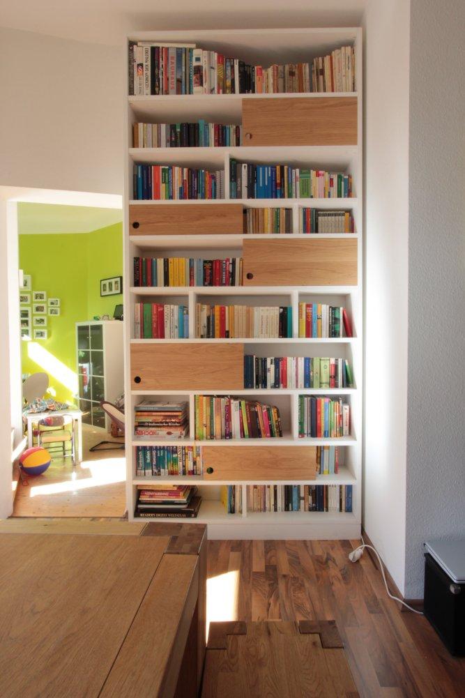 Bücherregal Mit Schiebetüren : b cherregal mit schiebet ren aus eiche dein tischler in leipzig dein tischler in leipzig ~ Sanjose-hotels-ca.com Haus und Dekorationen