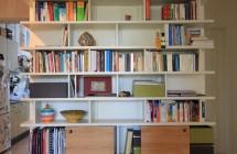 Bücherregal gefüllt
