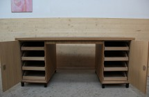 Schreibtisch offen